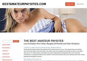 Only The Best Amateur Paysites