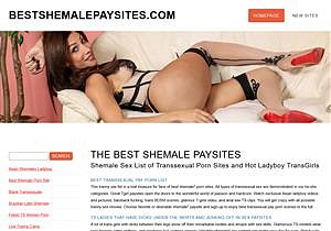 Only Best Shemale Paysites