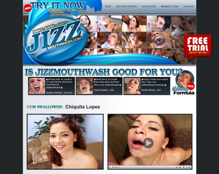Jizz Mouth Wash